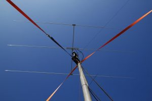 Antenne tijdens PACC contest 2015