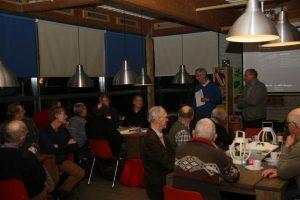 Eindejaarsavond met Remy Denker PA3AGF (VERON) en Floris Wijnnobel PA1FW (VRZA)k voorzitter van de VRZA