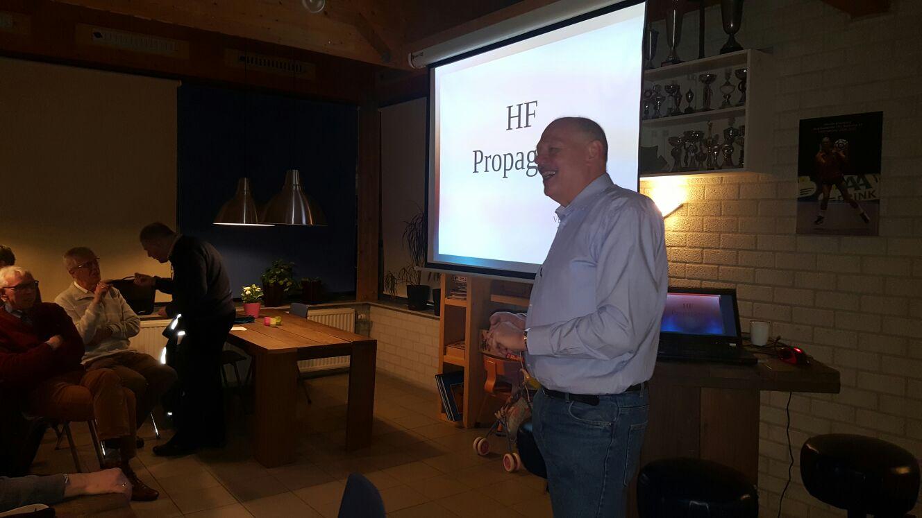 Rudi PA4UNX propagatie lezing