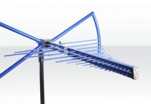 Biconical antenne voor EMC metingen
