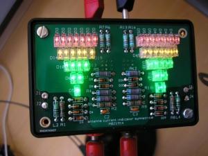 Antennestroom Indicator (coax en open lijn)